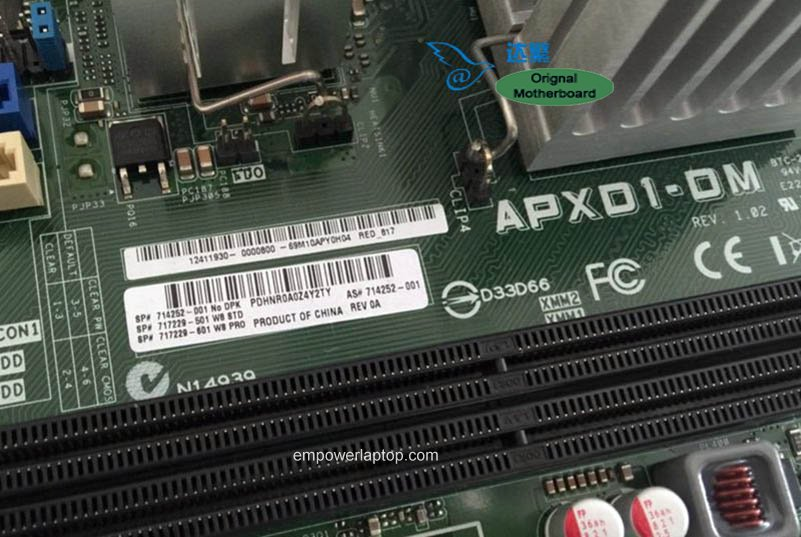 714252-001 HP P2-1100 P2-1300 CQ2000 110-014 Motherboard APXD1-DM 717229-001 Mainboard 100%tested fully work
