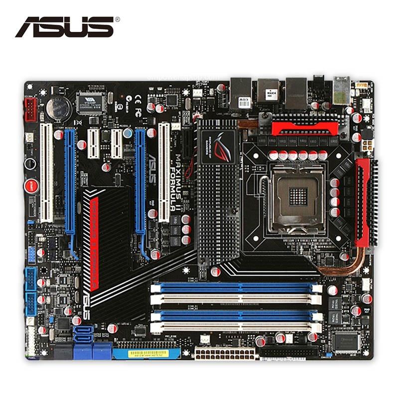 Asus Maximus II mula Desktop Motherboard M2F P45 Socket LGA 775 DDR2 SATA2 USB2.0 ATX Second-hand High Quality