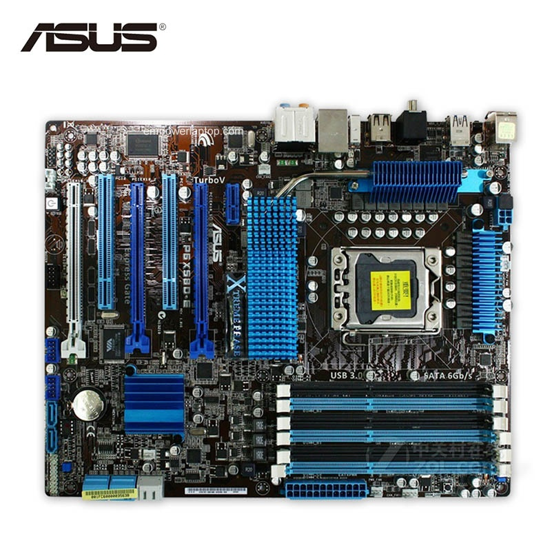 Asus P6X58D-E Motherboard Drivers