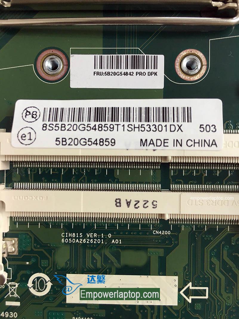 Lenovo B4030 B40-30 AIO Motherboard CIH81S VER:1.0 Mainboard 100%tested fully work