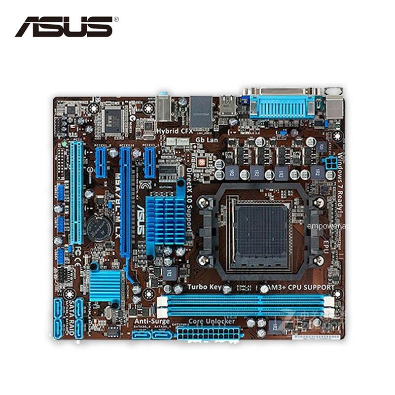 Asus M5A78L-M LX Desktop Motherboard 760G Socket AM3+ DDR3 16G SATA2 USB2.0 uATX Second-hand High Quality