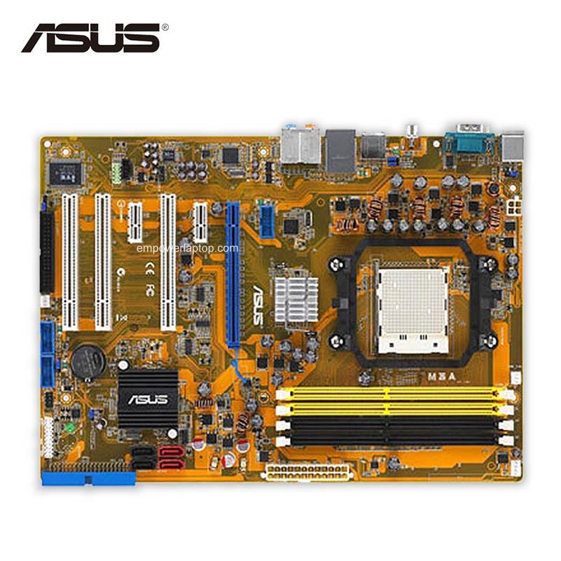 Asus M3A Desktop Motherboard 770 Socket AM2+ DDR2 SATA II ATX Second-hand High Quality