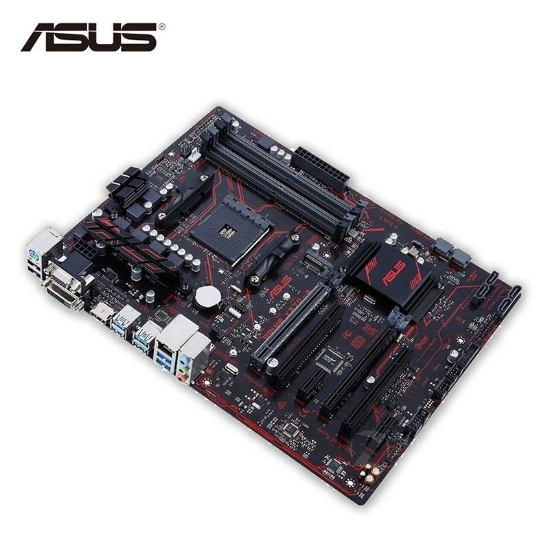 Asus PRIME X370-A New Desktop Motherboard X370 Socket AM4 DDR4 64G SATA3 USB3.1 ATX Second-hand High Quality