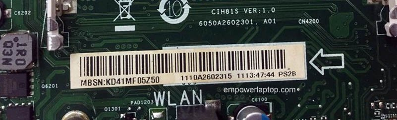 90005399 Lenovo C360 C460 AIO Motherboard CIH81S 6050A2602301,A01 Mainboard 100%tested fully work