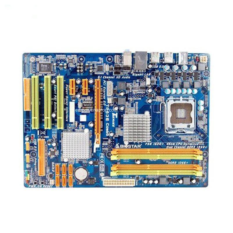 Biostar TP43E XE 5.x Intel Chipset 64x