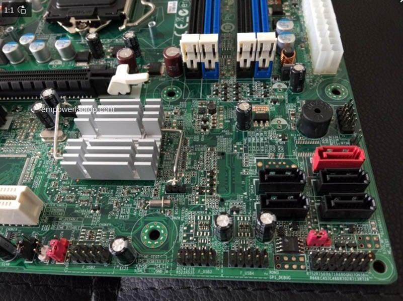 ACER M4610 M4610G Desktop Moederbord Q65H2-AM LG1155 moederbord 100% volledig getest werkt
