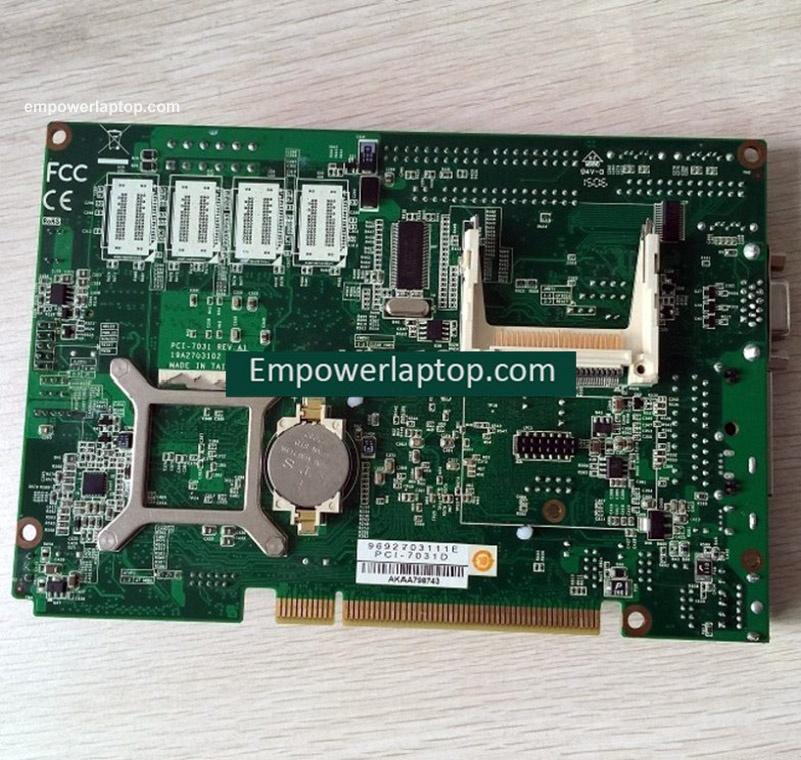 original PCI-7031 REV.A1 PCI-7031D industrial motherboard