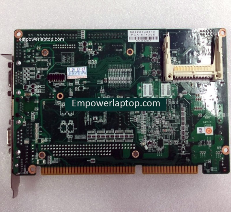 PCA-6743 PCA-6743VE industrial motherboard without PC104