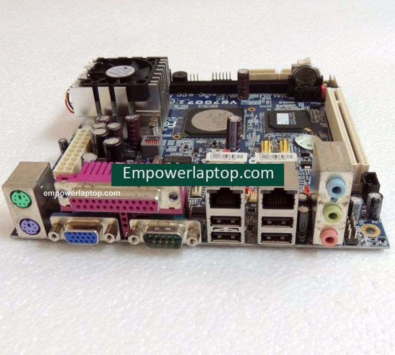 POS motherboard for VIA VB7007 Mini-ITX 17*17 mainboard well