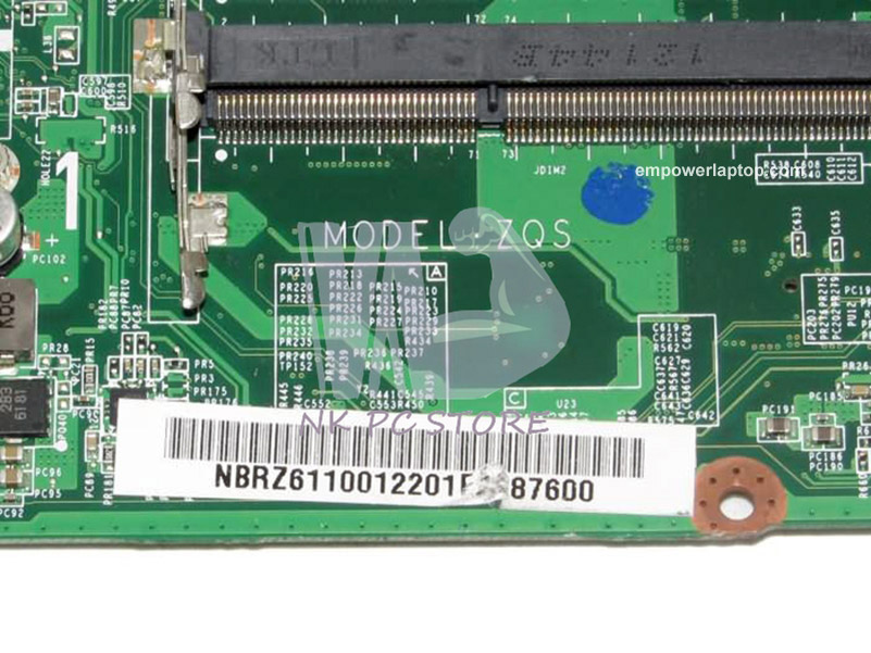 Acer motherboard NBRZ611001 NB RZ611 001 E1-471G E1-431G E1-431 HM77  Graphics