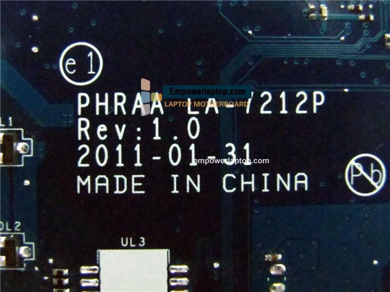K000128610 Main Board For Toshiba Satellite P755 Laptop Motherboard DDR3 HM65 GMA HD PHRAA LA-7212P
