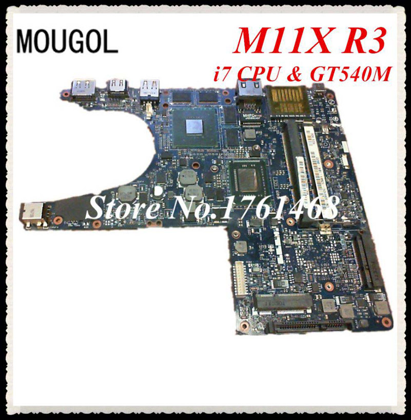 Dell motherboard M11X R3 GT540M i7