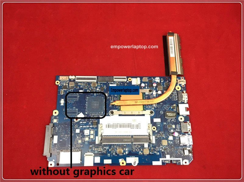 Good Laptop Motherboard with CPU for lenovo 110-15ACL NM-A841 CG521 working well