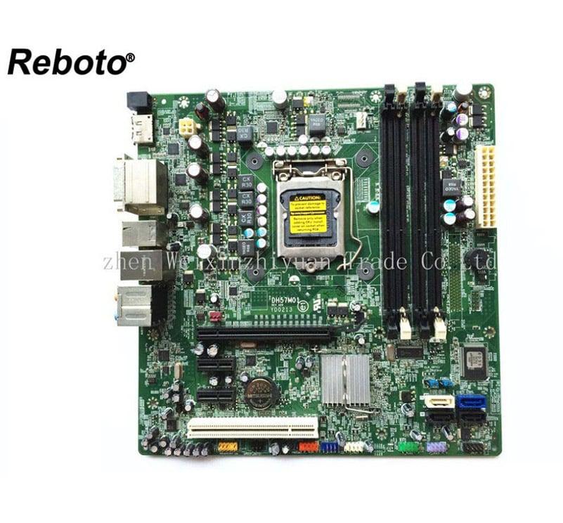 DELL 8100 Desktop Motherboard mainboard H57 LGA1156 DH57M01 CN-0T568R T568R 100%