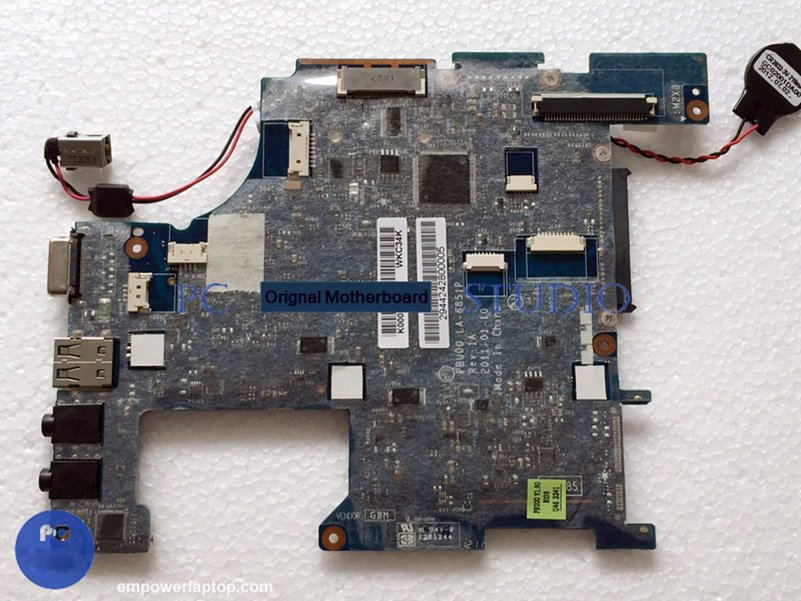 K000126210 PBU00 LA-6851P for toshiba satellite NB500 NB505 laptop motherboard N550