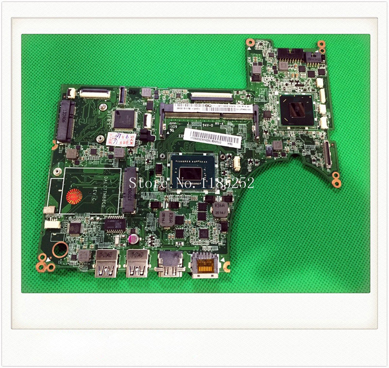 original For Lenovo U310 Laptop motherboard DA0LZ7MB8E0 DALZ7TMB8C0 Mainboard with I3 CPU 100% Good working