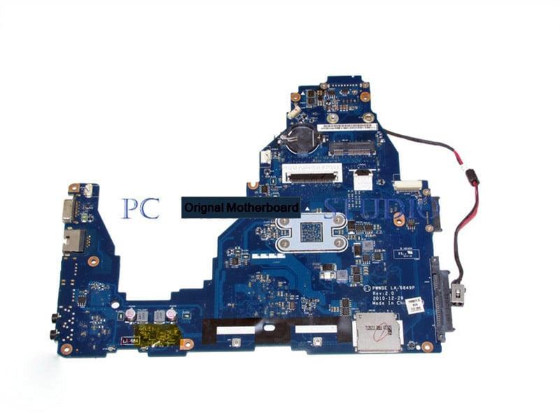 K000128540 PWWBE LA-6849P MAIN BOARD for Toshiba Satellite C660D Laptop Motherboard PWWBE E-300 CPU DDR3