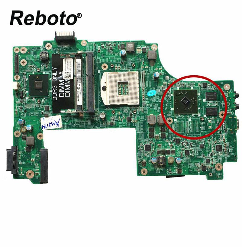 High Laptop Motherboard DELL N7010 0V20WM V20WM DAUM9BMB6D0 HM57 HD 5470 1GB Mainboard 100% Fast Ship