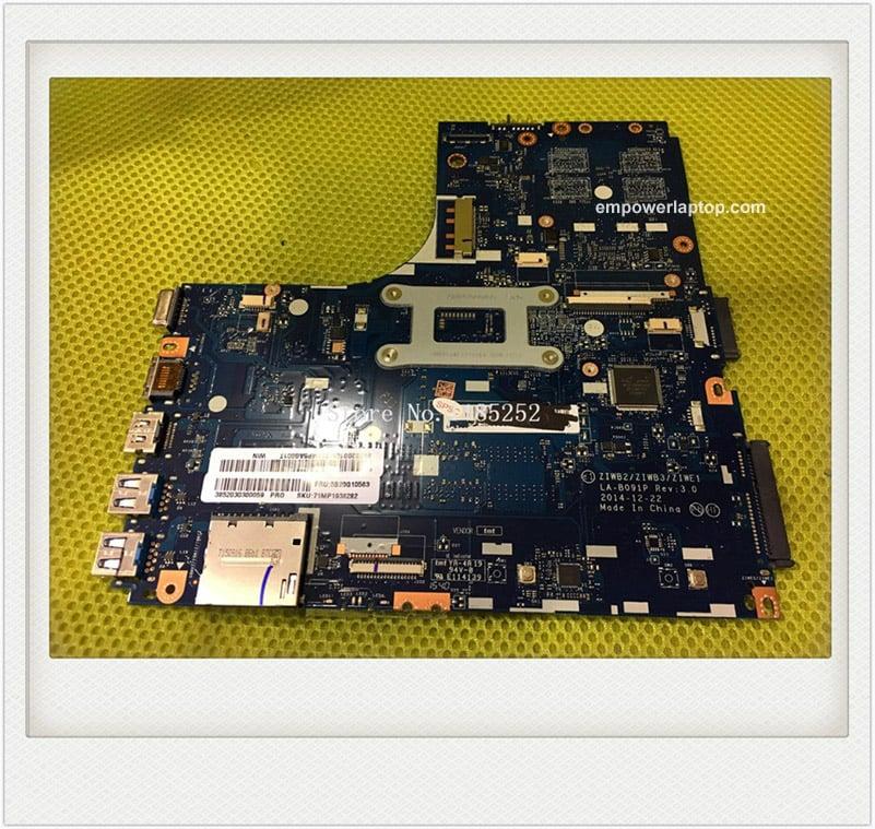 For Lenovo B50-70 Laptop motherboard ZIWB2/ZIWB3/ZIWE1 LA-B091P Mainboard with I5-4210U CPU 100% Good working