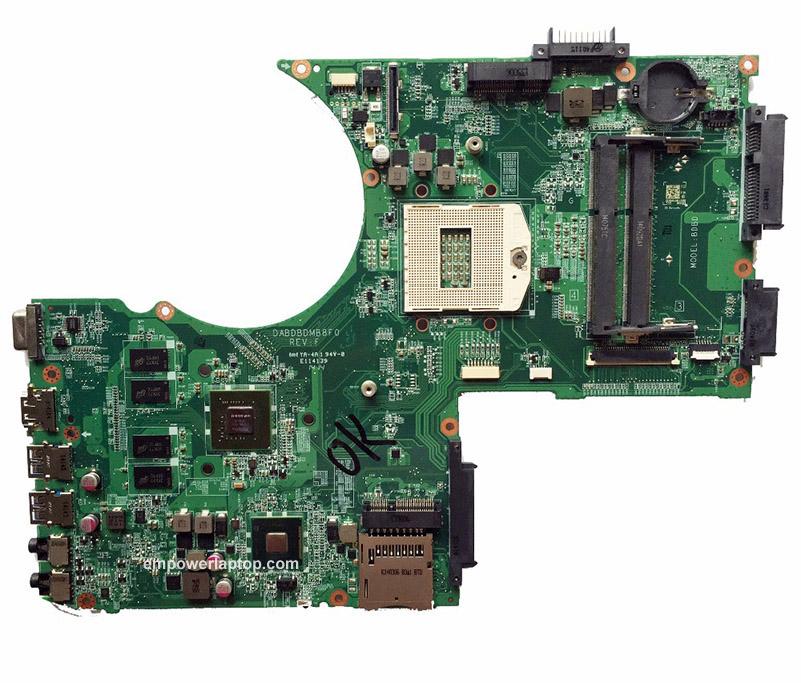 Laptop moderkort För Toshiba P70 P70-A P75 P75-A A000241240 DABDBDMB8F0 GT740M PGA947 moderkort 100%