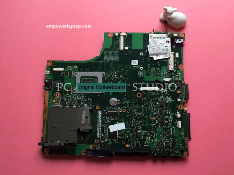 V000108010 6050A2120801 Genuine For TOSHIBA SATELLITE A205 LAPTOP MOTHERBOARD & FREE CPU WORKS