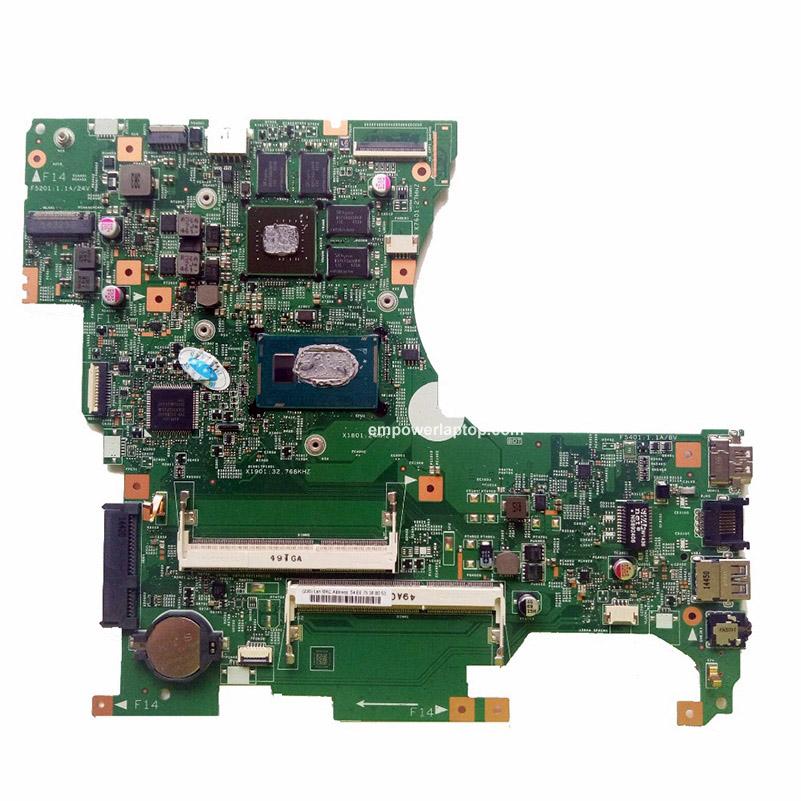 För Lenovo FLEX 2-15 Laptop moderkort 448.00Z04.0011 SR16Q I3-4010M 840M 100% Snabb Ship