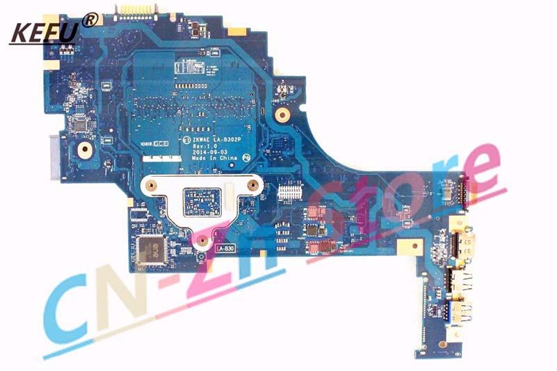 FOR Toshiba Satellite C55D-B Laptop motherboard LA-B302P K000890980 E1-6010 CPU
