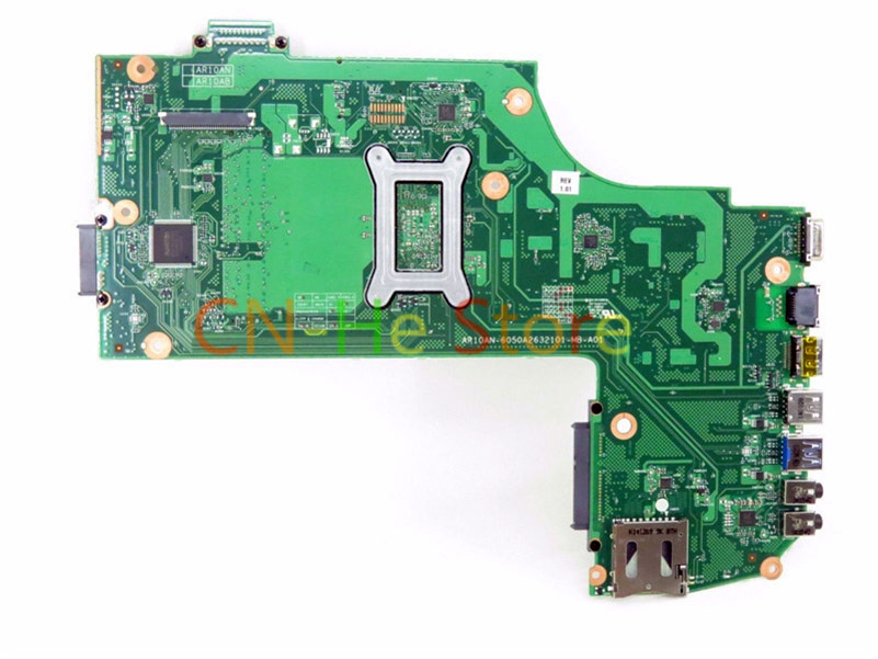 FOR Toshiba Satellite C75D-B Laptop Motherboard V000358300 6050A2632101-MB-A01 Integrated Graphics W/ FOR A4-6210 CPU