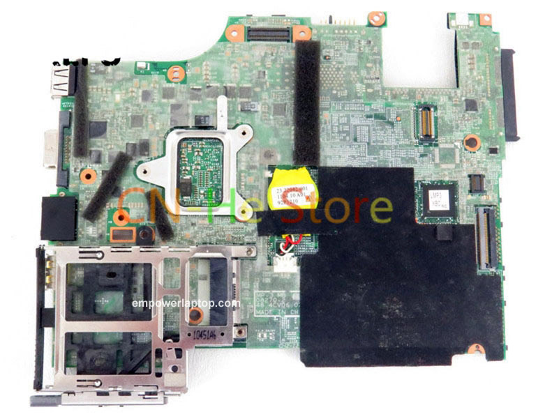 FOR Lenovo Thinkpad X201I Laptop motherboard FRU 75y4195 QM57 DDR3 W/ I3-370m CPU Independent graphics card