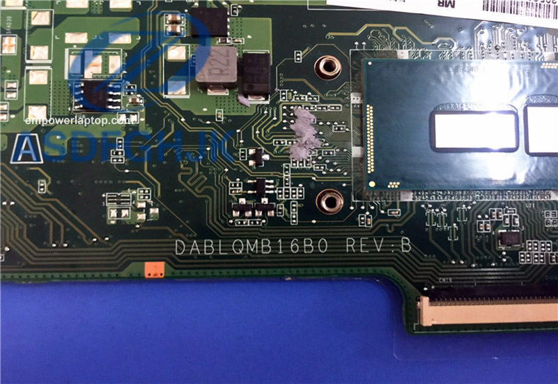 Laptop motherboard A000396140 DABLQMB16B0 FOR Toshiba C55-C5380 C55-C Series motherboard 100% working perfect
