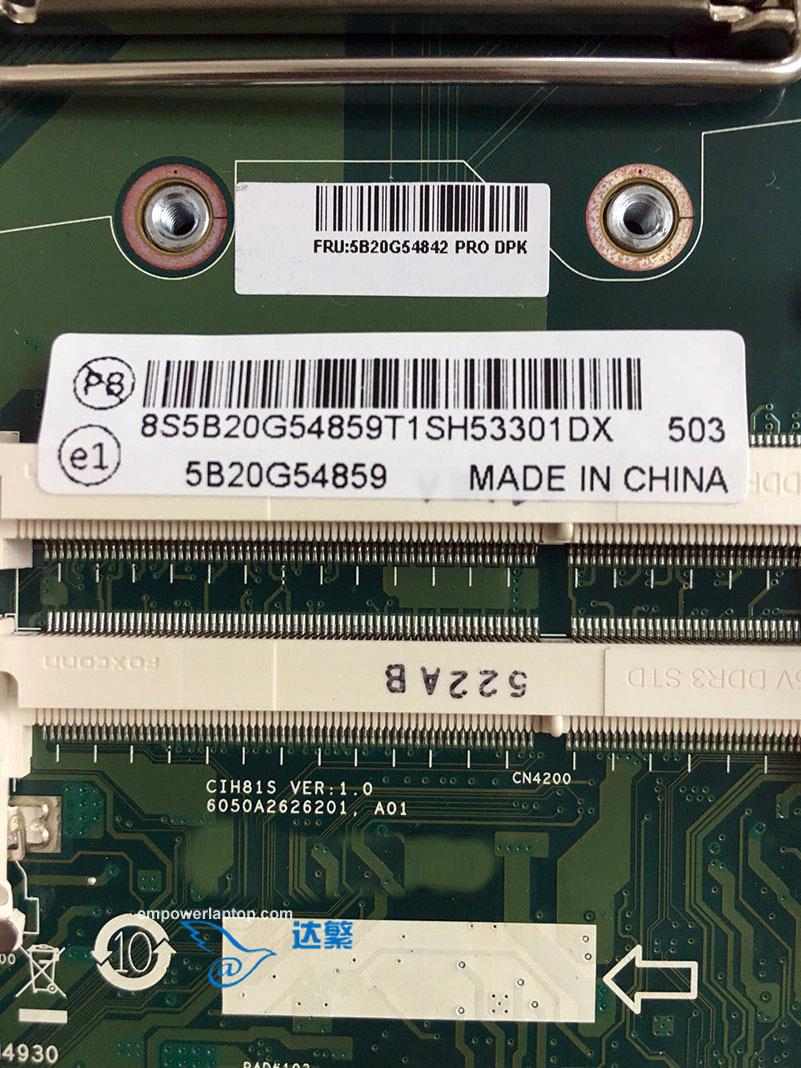 For Lenovo B4030 B40-30 AIO Motherboard CIH81S VER:1.0 Mainboard 100% fully work
