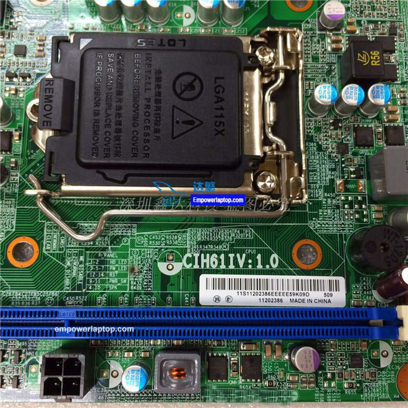 För Lenovo H520E ER202 Desktop moderkort CIH61I V: 1,0 H61H2-LT LGA1155 moderkort 100% arbeta helt