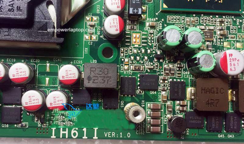 For Lenovo M72E M92P M4350Q AIO Motherboard IH61I 03T8194 03T7347 LGA1155 Mainboard 100% fully work