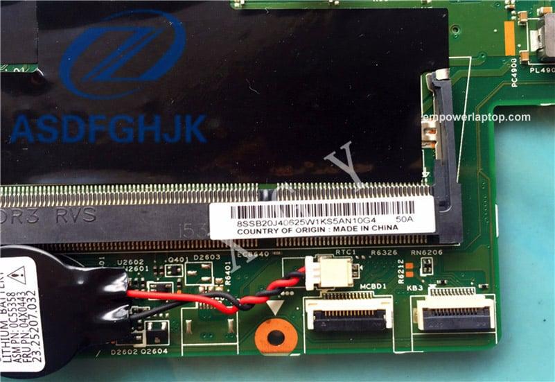 Laptop Motherboard 00UP329 For Thinkpad S3 for Lenovo for YOGA 14 Motherboard 13323-2 448.0110.0021 SR23Y DDR3L 100%