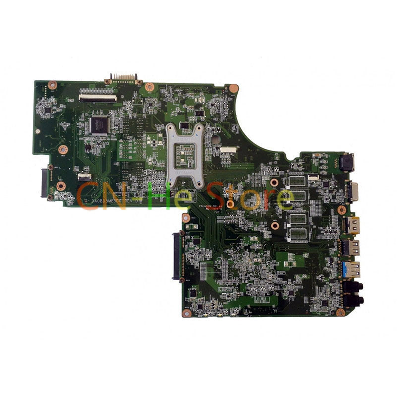 FOR TOSHIBA SATELLITE L75 C75 L70 Laptop Motherboard A000243190 DA0BD5MB8D0 DDR3 Integrated Graphics