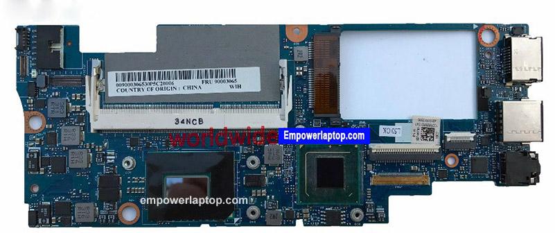 Flott moderkort för Lenovo Yoga 11s Laptop med CPU i7-3689 P / N 90.003.065 DDR3