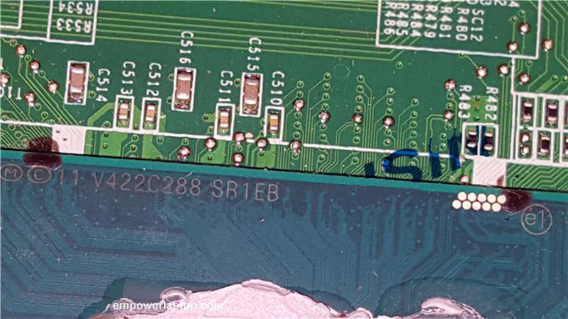 Original FOR Lenovo FOR IdeaPad U530 Series Motherboard WITH CPU SR1EB DA0LZ9MB8G0 90004536 100% Work