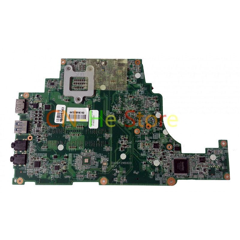 FOR TOSHIBA SATELLITE U840T U845T Laptop Motherboard A000211310 DABY2EMB8B0 Integrated Graphics W/ I5-3317U CPU