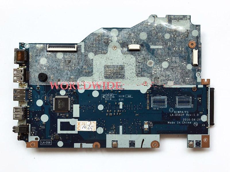 High 5B20M41058 BIWP4/P5 LA-D562P FOR Lenovo Ideapad 110-15ISK Laptop Motherboard I3-6100U DDR4 100%
