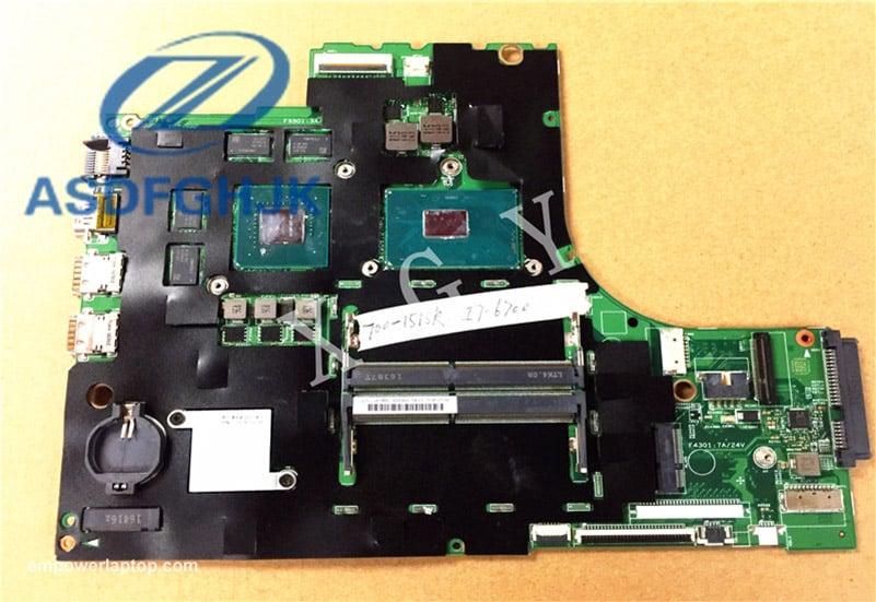 Laptop moderkort 15221-1M 448.06R01.001M för LENOVO för Ideapad 700-15isk moderkort SR2FQ DDR4 ointegrerade 100% prov ok