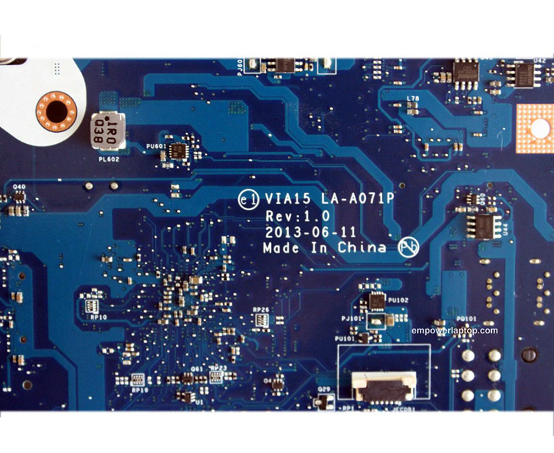 for Lenovo B550 motherboard VIA15 LA-A071P Rev:1.0 USB3.0 DDR3 mainboard 100%
