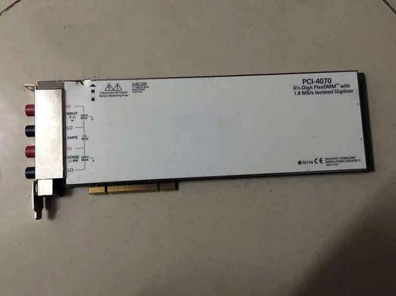 PCI-4070 digit PCI DMM card used item