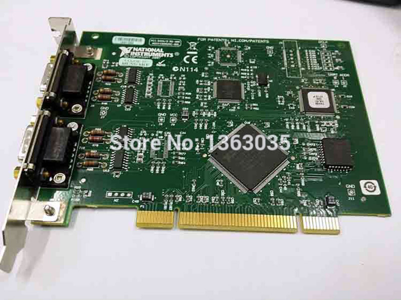 PCI-8431/2  PCI-8431  national instruments high-performance 2-port serial interface capture card