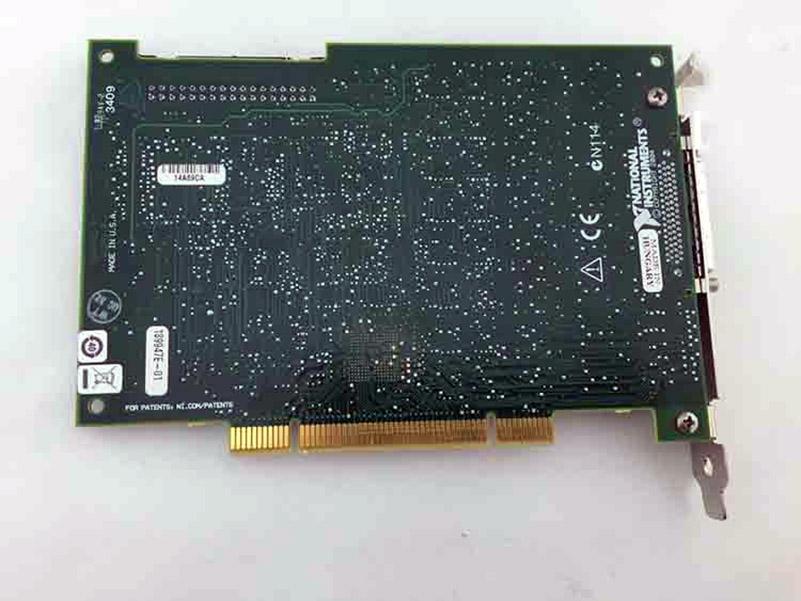 PCI-6143 778913-01 DAQ Card, 8 Channel 16bit simultaneous sampling