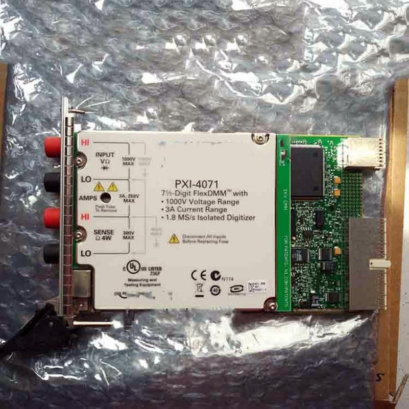 PXI-4071 778271-01 tarjeta de captura
