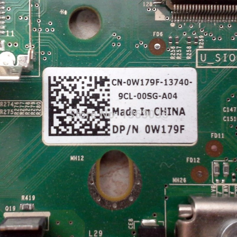 0W179F W179F CN-0W179F R410 1U Server Motherboard LGA1366