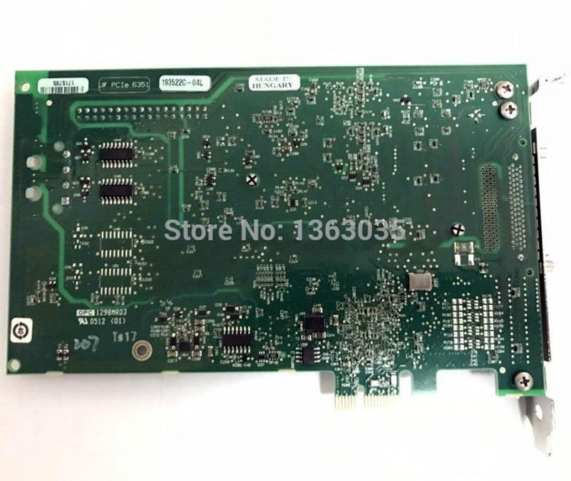 PCIE-6351 X-serien multifunktions DAQ Device för NI PCIe 6351 DAQ kort