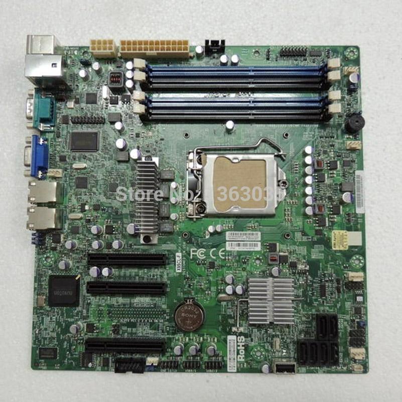 X9SCL-F server motherboard C202 chipset LGA1155