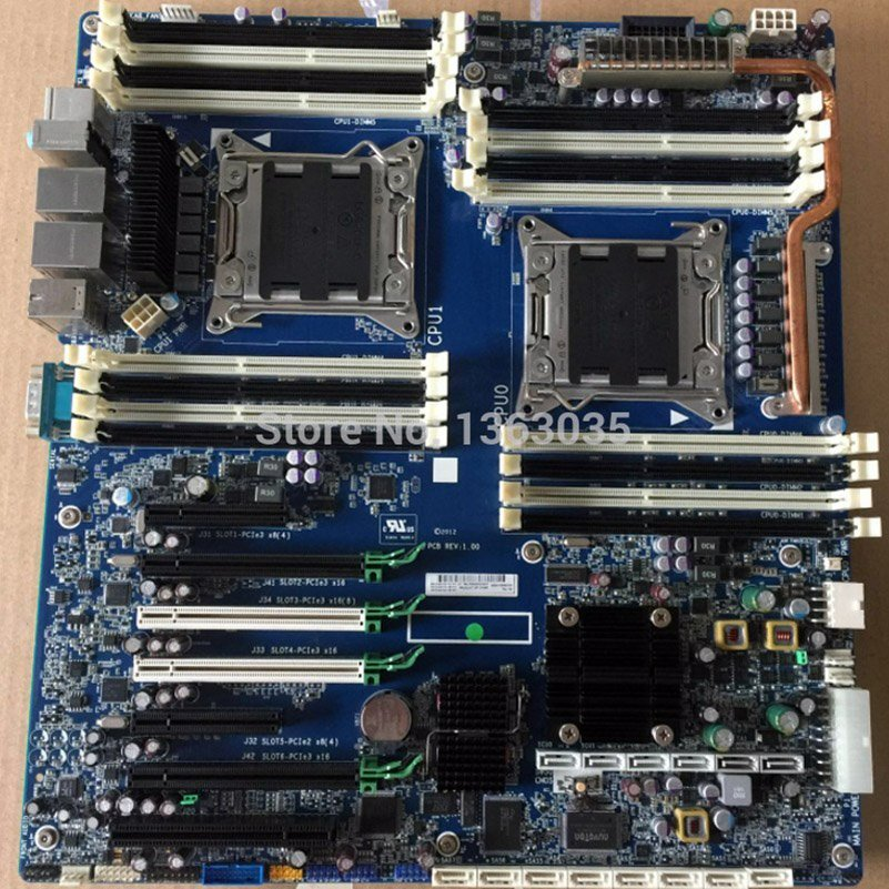 HP 618266-002 708646-001 Z820 workstation motherboard