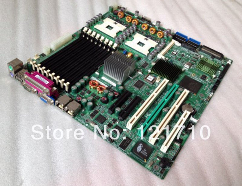 SUPER workstation and server board Supermicro X6DH8-G REV 1 21 dual XEON  604 socket industrial motherboard
